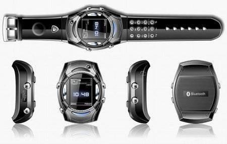 Van Der Led – часы со встроенным мобильником
