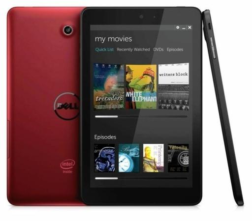 Планшеты Dell с Windows и Android выходят в продажу