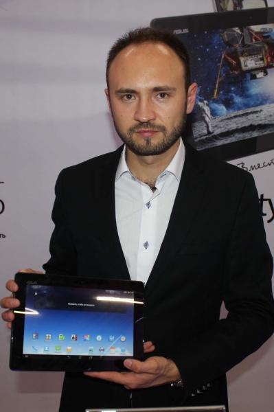 ASUS рассказала россиянам о своих планшетах