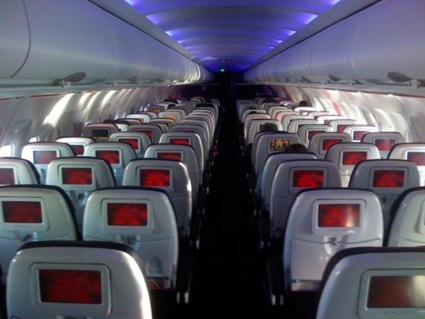 Взлет и посадка за светящимся экраном