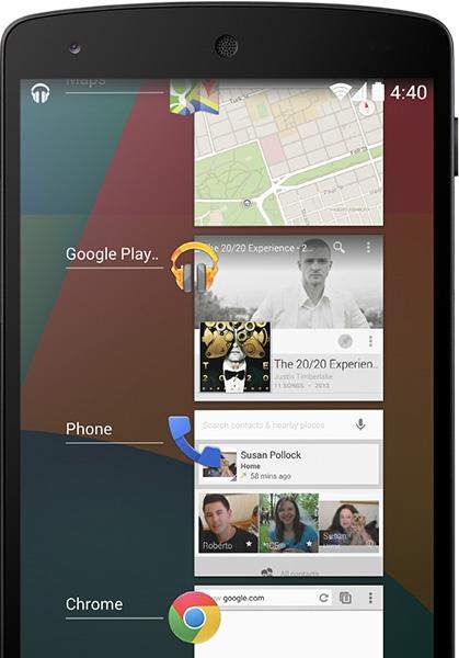 Google представила новую версию Android и смартфон Nexus 5
