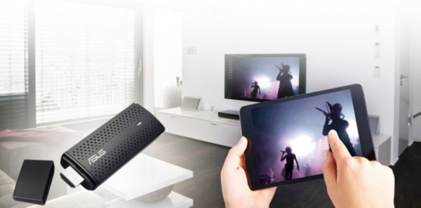 Asus Miracast Dongle display screen of the mobile device to the TV