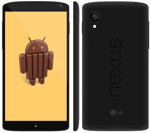 Nexus 5 появился в России