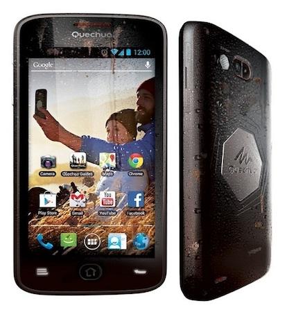 Quechua Phone — защищенный смартфон для туристов