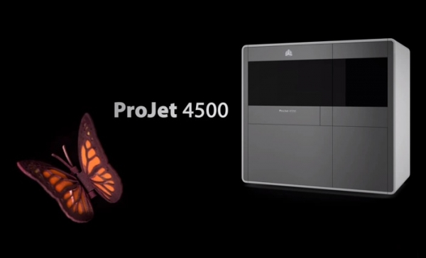 ProJet 4500 — полноцветный 3D-принтер