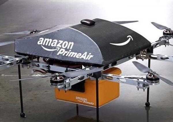 Prime Air — дроиды-курьеры от Amazon