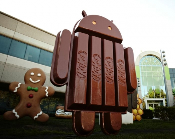 Android 4.4 Kit Kat используется на 1,1 процента Android-устройств