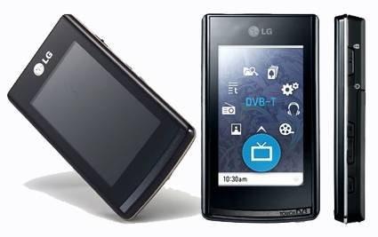 T80 – новый медиаплеер с сенсорным экраном от LG