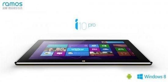 Ramos i10 — планшет с процессором Bay Trail и двумя ОС