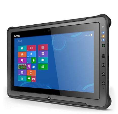 Getac начинает продажи мощного, защищенного планшета F110