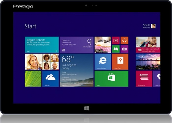 Prestigio Mutlipad Visctone — планшет с Windows 8.1
