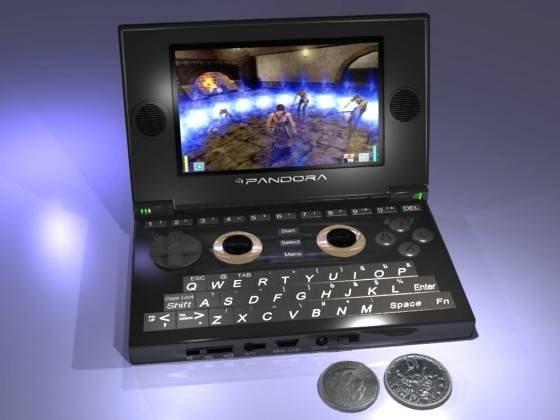Pandora – ультрамобильный компьютер с функциями игровой консоли