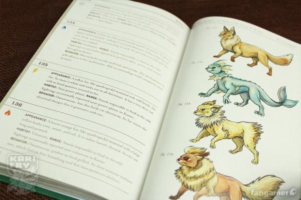 Выпущен полный бумажный справочник по покемонам Канто