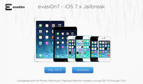 Для iOS 7 появился джейлбрейк