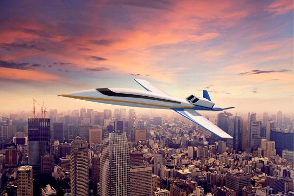 Первый в мире частный сверхзвуковой самолет – всего за 80 миллионов!