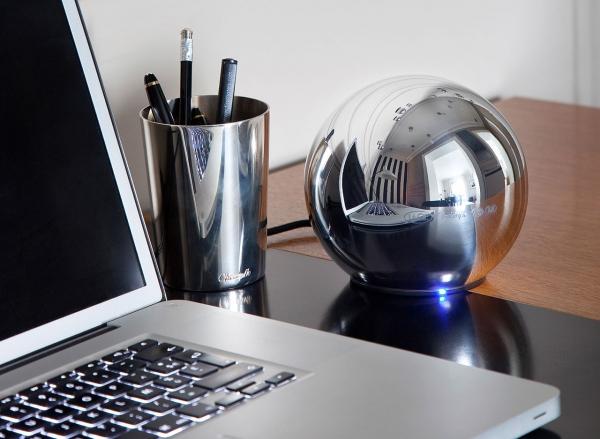 LaCie Sphere – великолепный внешний HDD от дизайнеров Christofle