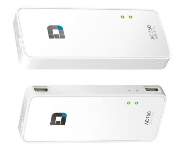 D-Link AC750 – портативный роутер, совмещенный с внешним аккумулятором