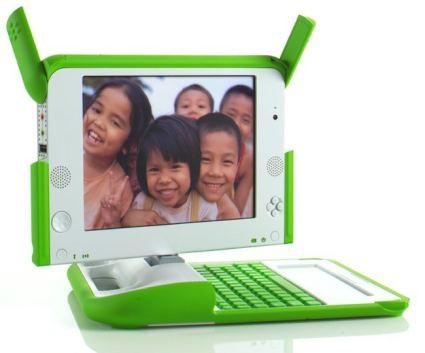 OLPC XO - ноутбук для детей =)