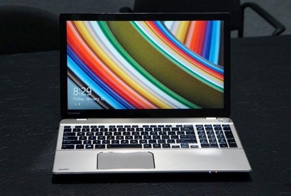 Toshiba представила лэптоп с 4K-дисплеем