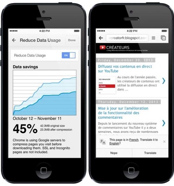 Мобильный Chrome научился сжимать трафик