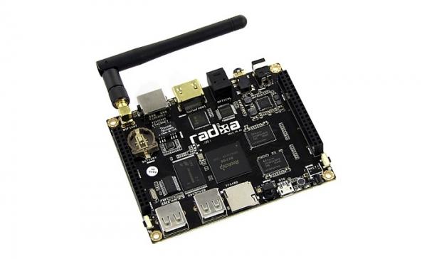 Radxa Rock — четырехъядерный одноплатный компьютер за 99 $