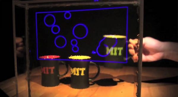 В MIT разработан недорогой прозрачный дисплей