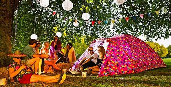 Bang Bang Solar Powered Tent – палатка с солнечной батареей