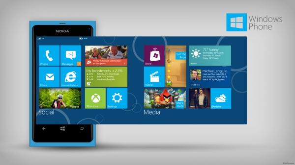 Платформа Windows Phone показывает стабильный рост