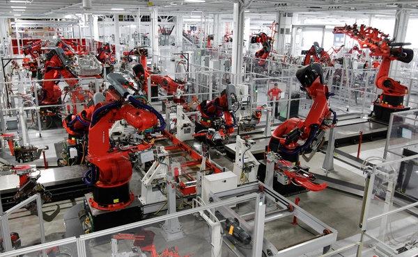 Google и Foxconn построят роботизированные фабрики будущего