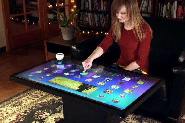Ideum Platform — 46-дюймовый сенсорный стол с ОС Android