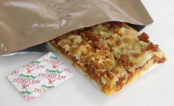 Пицца, хранящаяся три года