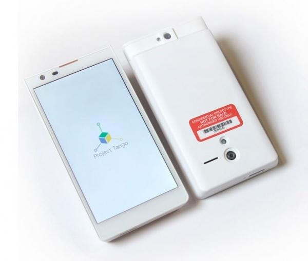 Google показал смартфон со встроенным 3D-сканером