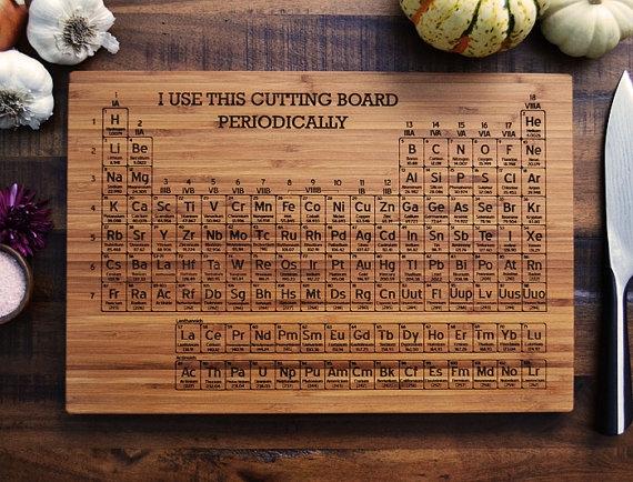 «Научные» кухонные доски для истинных гиков