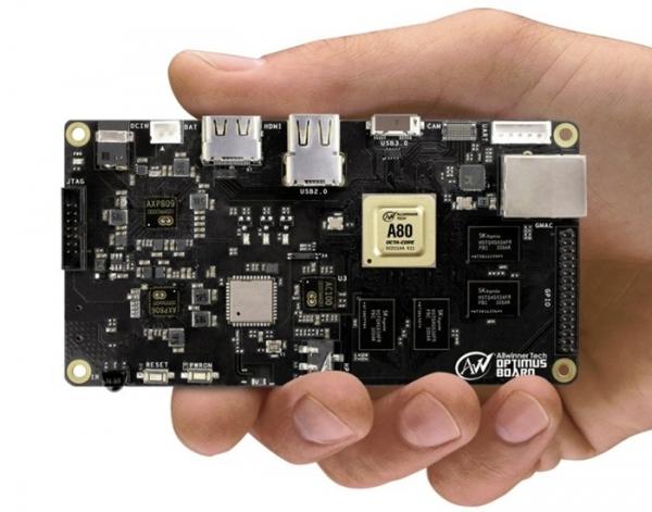 Allwinner презентует 8-ядерный процессор UtraOcta A80