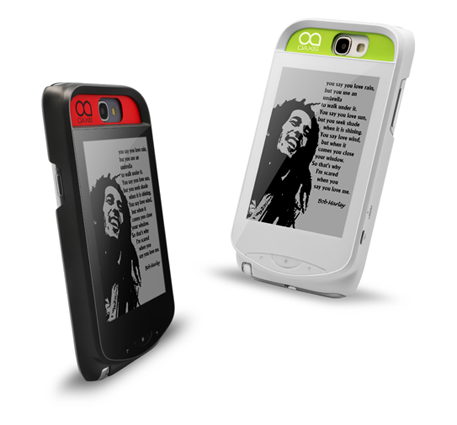 InkCase � eInk-������� ��� iPhone 5 � Galaxy Note 2