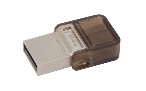 Kingston DataTraveler microDuo — флешка для ПК и мобильных устройств