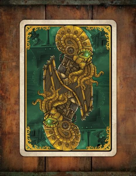 Классные игральные карты «Стимпанковый Ктулху: Воскрешение»