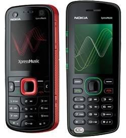 5320 и 5220 – новые музыкальные телефоны Nokia