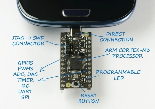 USB2Go — плата для разработчиков Android