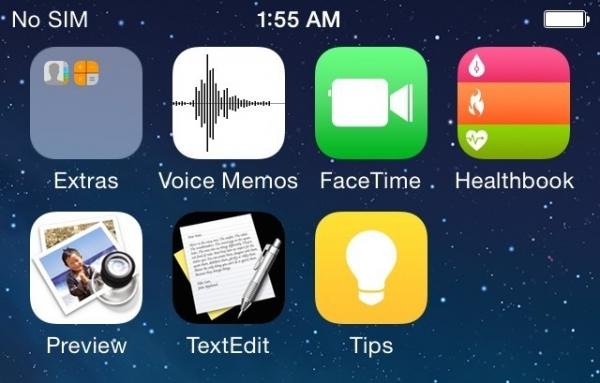 В Сети появились первые неофициальные скриншоты iOS 8