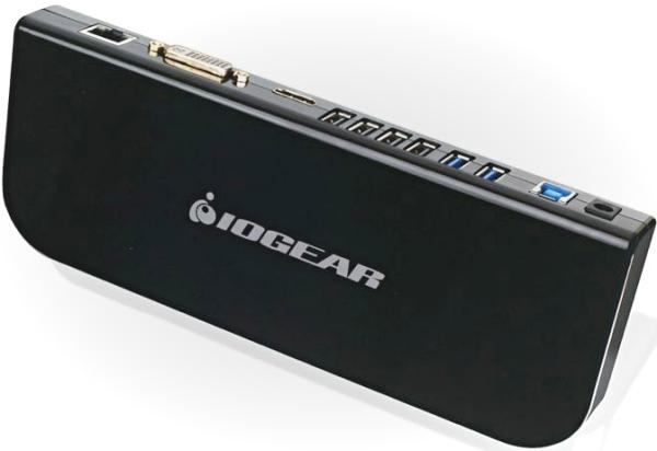 Iogear USB 3 Universal Docking Station — док-станция для ноутбука или Windows-планшета