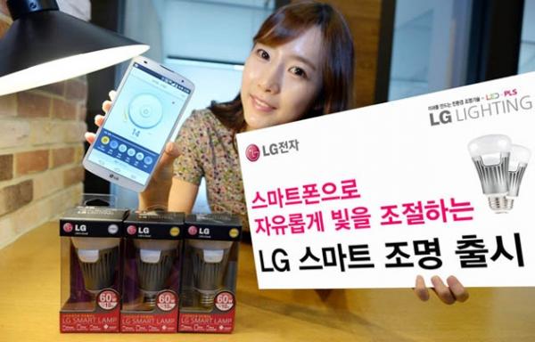 LG анонсирует новую «умную» лампочку