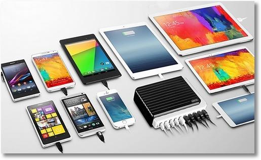 10-портовое зарядное устройство Unitek 10 Port USB Charger