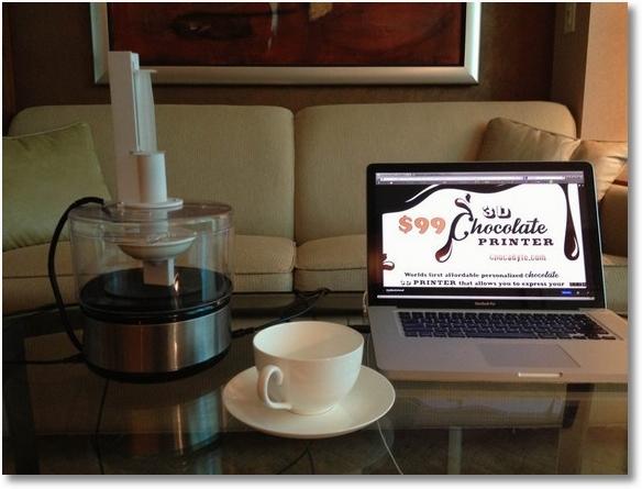 ChocaByte — первый в мире шоколадный 3D-принтер