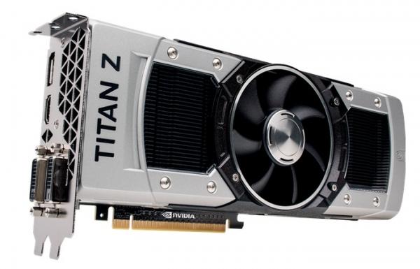 Сверхмощная видеокарта Nvidia Titan Z