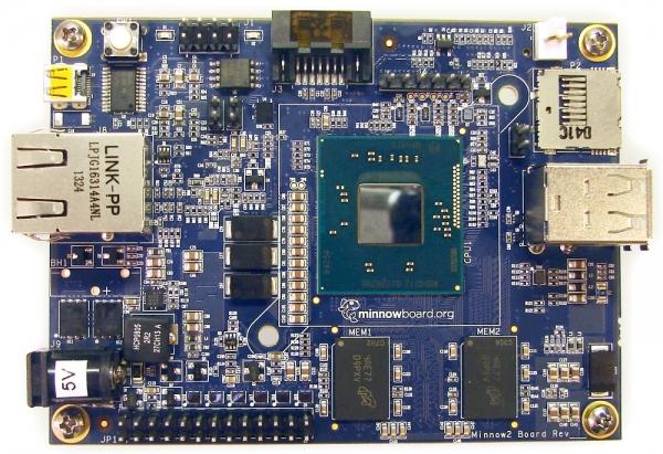 Intel запускает «опенсорсный» одноплатный компьютер MinnowBoard Max за