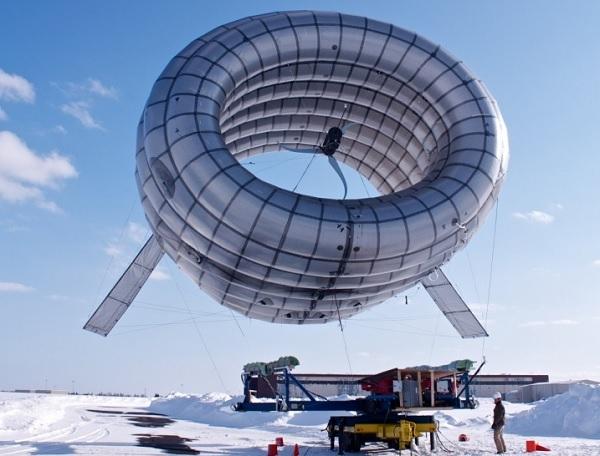 Первый в мире «летучий ветрогенератор» будет раздавать Wi-Fi