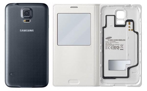 Samsung анонсировала аксессуар для Galaxy S5, добавляющий беспроводную зарядку