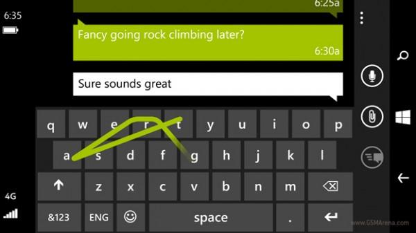 Стандартная клавиатура с функцией Word Flow из Windows Phone 8.1 попала в Книгу рекордов Гиннесса