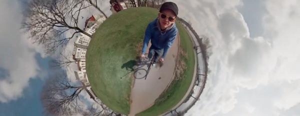 «360-градусное видео» с 6 камер GoPro